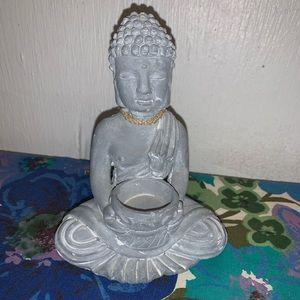 Other - Concrete Buddha Incense Burner